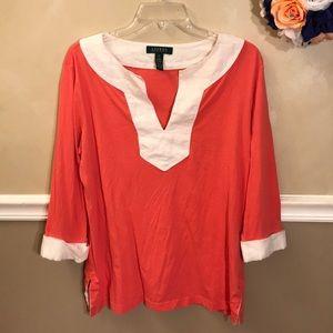 Lauren Ralph Lauren cotton tunic